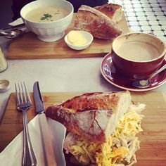 Instagrammer xx_alexandra had this tasty meal at Autolyse bakery in Braddon.