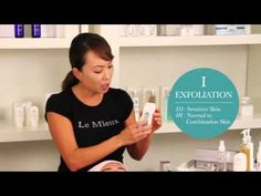 How to Use the Le Mieux Facial Scrubber - Le Mieux