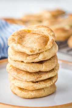 Snickerdoodle Cookies #cookiessnickerdoodle