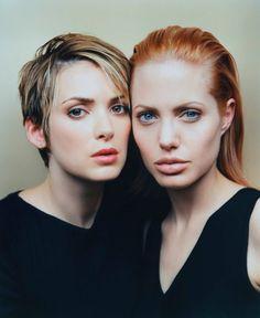 #Angelina Jolie and #Winona Ryder