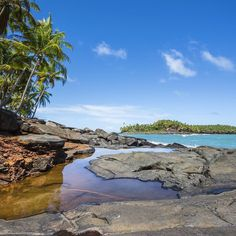 The stunning beauty of Îles du Salut in French Guiana.