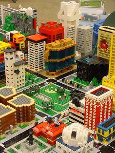 Lego TwinLUG Micropolis at SpringCon  (by Garth Danielson)