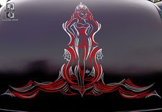 pinstriping from the LA Roadster Show in Pomona, CA