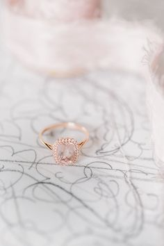 Unique + gorgeous rose gold engagement rings: http://www.stylemepretty.com/2015/12/02/surprisingly-gorgeous-rose-gold-engagement-rings/