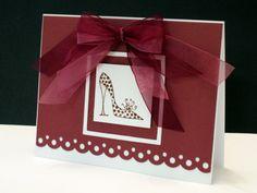 LSC243 Girlie Shoe by ctorina - Cards and Paper Crafts at Splitcoaststampers