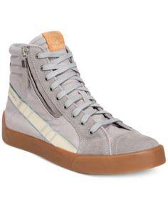 DIESEL Diesel Men'S D-Velows D-String Plus Hightop Sneakers. #diesel #shoes # all men