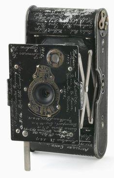 Vest pocket Kodak camera belonging to Sergeant P E Virgoe 4 Light Horse Regiment AIF (ca. 1913)