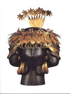 Head-dress found in the tomb of Puabi, Ur