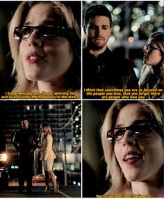 Arrow - Felicity & Oliver #3.19 #Season3 #Olicity <3