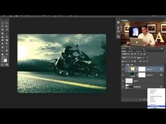 How to Make A Badass Photo in Photoshop (Part 1) - YouTube