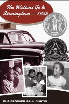 """The Watsons Go to / Christopher Paul Curtis """"The ordinary interactions and everyday routines of the Watsons, an African American family living in Flint, Michigan, are drastically changed after they go to visit Grandma in Alabama in the summer of"""