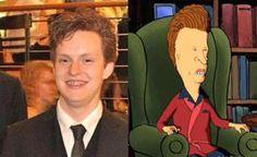 People Who Look Like Cartoon Characters! HAHA via http://viralsquid.com/look-like-cartoon-characters/