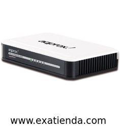 Ya disponible Switch Approx 5 ptos 10/100 blanco appsw5v2   (por sólo 16.95 € IVA incluído):   -Le proporcina 5 puertos Auto-Negociación RJ45 a 10/100 Mbps. Todos los puertos admiten función Auto MDI/MDIX, eliminando la necesidad de cables o puertos Uplink. El Switch es Plug and Play y cada puerto puede ser usado como puerto general o puerto Uplink pudiendo ser enchufados simplemente a un servidor, hub o switch...  -Chipset: Atheros AR8236 -Auto-Negociación -Auto MDI(M