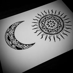 #sunandmoontattoo design for tomorrow :) #mandala #mandalatattoo #onlyblackart #noirtattoos #blxckink #blackwork #blackndark #btattooing #blacktattoos #blacktattooart #BLACKTATTOOMAG