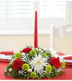 Resultado de imagen para 1-800-flowers christmas centerpiece