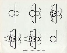 Alphabet Antics, 1955
