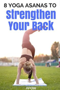 Did you know that yoga can help relieve back pain while strengthening back muscles? Learn the right yoga poses to reduce back pain and grow stronger. Yoga Poses For Beginners, Workout For Beginners, Asana Yoga Poses, Muscles In Your Back, Hard Yoga, Relieve Back Pain, Partner Yoga, Yoga Posen, Improve Mental Health