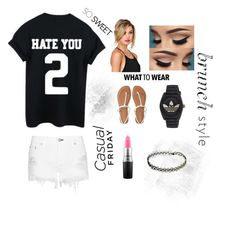 Designer Clothes, Shoes & Bags for Women Mac Cosmetics, What To Wear, Adidas, Shoe Bag, Casual, Polyvore, Stuff To Buy, Shopping, Shoes