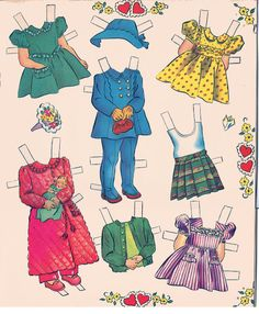 babies* 1500 free paper dolls at Arielle Gabriel's International Paper Doll Society for Pinterest paper doll pals *