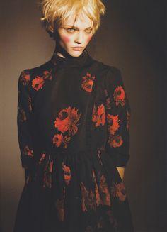 fashion portrait Prada