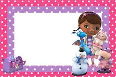 Image result for free printable Doc Mcstuffins buffet cards