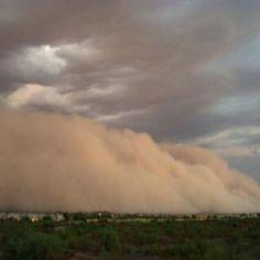 Sand storm! Phoenix , Az
