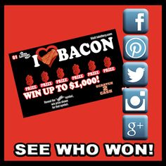 See who the five winners were in this month's social media contest! Click the image to find out.