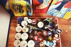 Spalvotai #colours #paint #paintings #art #artist