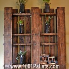 Pall - Bokhylla - How to hang a pallet !
