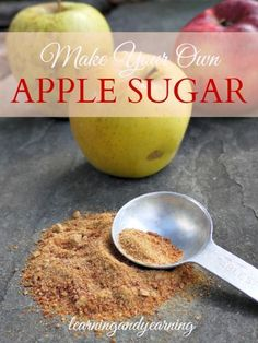 Has it been a great year for apples? Learn how to use them to make apple sugar to sweeten winter treats.