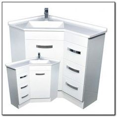 corner bathroom vanity with sink - Google Search