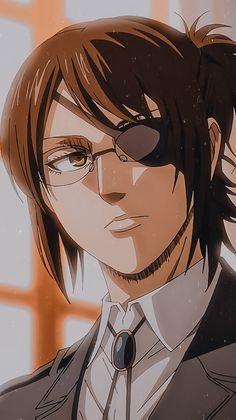 Otaku Anime, Anime Guys, Manga Anime, Anime Art, Hanji Attack On Titan, Attack On Titan Fanart, Animes Yandere, Fanarts Anime, Animes Wallpapers