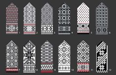 "Kirjoneule, lapaset - The Latvian Traditional Mitten Pattern kit ""Knit like a Latvia. via Etsy. Knitted Mittens Pattern, Knit Mittens, Mitten Gloves, Knitting Socks, Hand Knitting, Diy Knitting Kit, Knitting Charts, Bracelet Crochet, Knitting Accessories"