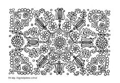 Hungarian Embroidery, Folk Embroidery, Learn Embroidery, Chain Stitch Embroidery, Embroidery Stitches, Embroidery Patterns, Stitch Head, Last Stitch, Vintage Jewelry Crafts