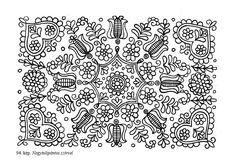 [Erdélyi Magyar Adatbank] Péntek János: A kalotaszegi népi hímzés és szókincse Chain Stitch Embroidery, Embroidery Stitches, Embroidery Patterns, Embroidery Techniques, Stitch Head, Last Stitch, Hungarian Embroidery, Folk Embroidery, Vintage Jewelry Crafts