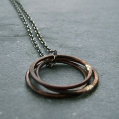 copper circles / el regalo perfecto