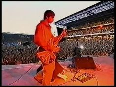 Maine Road, Manchester. I saw Oasis here in the summer of 1996 at the height of Brit Pop.