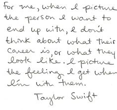 """Wow. Talk about a perspective change. Who would have thought I'd be taking """"advice"""" from Taylor Swift?"""
