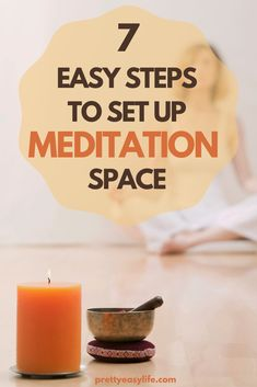 How to Set up a Meditation Space You Won't Want to Leave. 7 easy steps to set up meditation space at home #meditation yoga poses for beginners YOGA POSES FOR BEGINNERS : PHOTO / CONTENTS  FROM  IN.PINTEREST.COM #HEALTH #EDUCRATSWEB