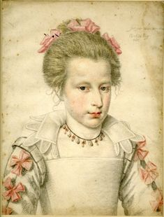 Portrait of a girl, c. 1610 by Daniel Dumonstier