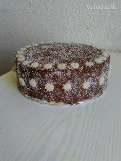 Kokosovo-čokoládová torta (fotorecept) My Favorite Food, Favorite Recipes, My Favorite Things, Nutella, Tiramisu, Mousse, Dairy Free, Muffin, Pudding
