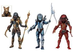 "Predators 7"" Figure Series 10 - NECA - Action Figures Toys News ToyNewsI.com"