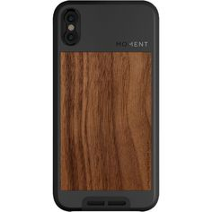 Moment Photo Case for iPhone X (2017, Walnut)