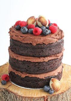 American chocolate mud cake recipe. Chocolate overload heaven!
