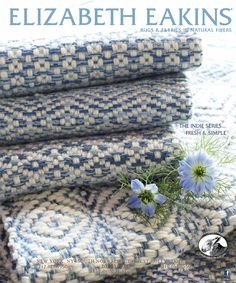 Elizabeth Eakins hand woven rugs