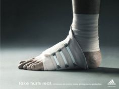 Creative Adidas Anti Fake Ads