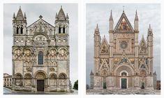 Facades by Mark Brunetti & partner makes detailed, huge, long-term multi-photos of European churches