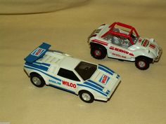 Wilco Servco Gasoline Gas Vehicles Set 2 Friction 1999 1992 Dune Buggy Race Car