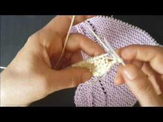 yaprak şal yaprak anlatımı sende yap - YouTube Brazilian Embroidery, Knitted Shawls, Baby Knitting Patterns, Crochet Bikini, Kendo, Youtube, Shawl, Knitting Patterns, Cravat