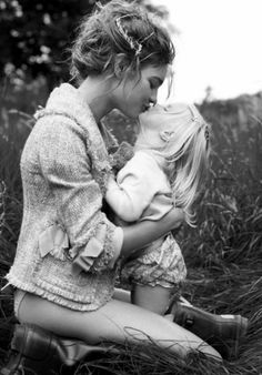 mommy   daughter love: the vodianovas